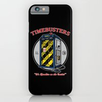 iPhone & iPod Case featuring Timebusters by Mike Handy Art