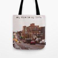 Perks Of Being A Wallflo… Tote Bag