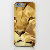 iPhone & iPod Case featuring lion by gazonula