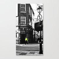 Beat On The Street Canvas Print