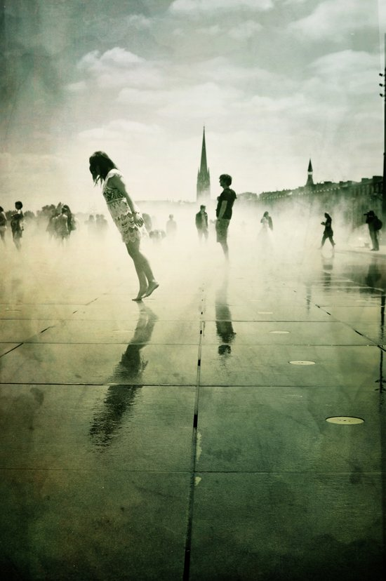 Danse de la pluie III Canvas Print