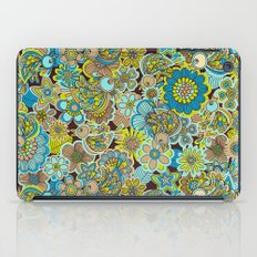 welcome birds to...(brown).  iPad Case