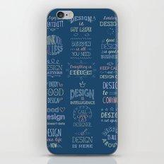 Call a Designer iPhone & iPod Skin