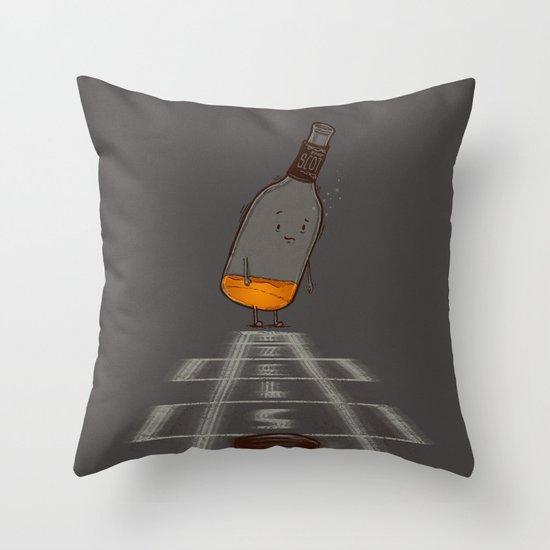 Hop Scotch Throw Pillow