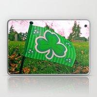 Shamrock flag Laptop & iPad Skin