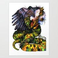 Snicken II Art Print