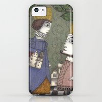 iPhone 5c Cases featuring My Father, the King by Judith Clay