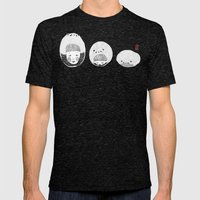 A Bored Panda  Mens Fitted Tee Tri-Black SMALL