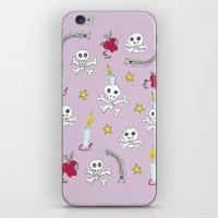 voodoo skulls iPhone & iPod Skin
