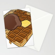 Waffle Time is Anytime. Stationery Cards