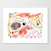 WASHED OUT OF OUR BONES Canvas Print