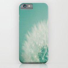 Aqua Dandelion  Slim Case iPhone 6s