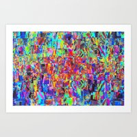 Sorting time as a remainder of balance moments. 01 Art Print