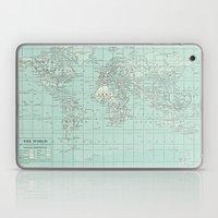 Vintage World Map In Sof… Laptop & iPad Skin