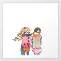 Chilly Art Print