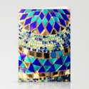 mosaic and beads [photograph] Stationery Cards