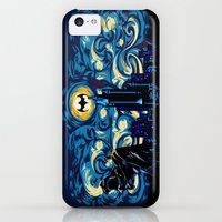 iPhone 5c Cases featuring Starry Knight iPhone 4 4s 5 5c 6, pillow case, mugs and tshirt by Three Second