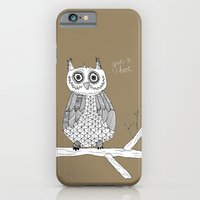 Give A Hoot iPhone 6 Slim Case