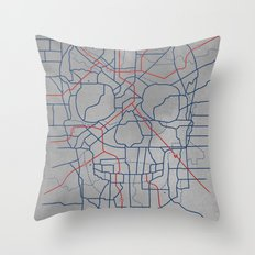 Death Toll Throw Pillow