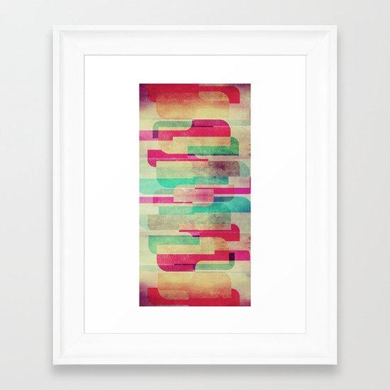 Staris Framed Art Print
