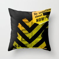 Spit Throw Pillow