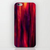 hot grass abstract II iPhone & iPod Skin