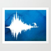 Soundwave Art Print