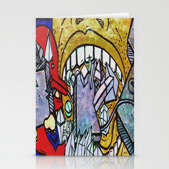 Graffiti II Stationery Card