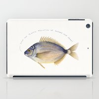 Stop the plastic pollution of oceans and seas! iPad Case