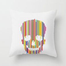Skull Study no.1 Throw Pillow