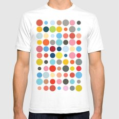 Tangled Up In Colour Mens Fitted Tee White SMALL