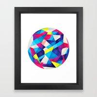 Color Language Framed Art Print