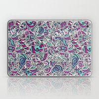 Tangle Pattern #001 Laptop & iPad Skin
