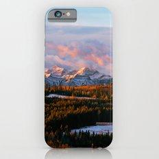 Sunrise in the Rockies iPhone 6 Slim Case