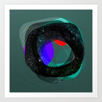 the abstract dream 9 Art Print