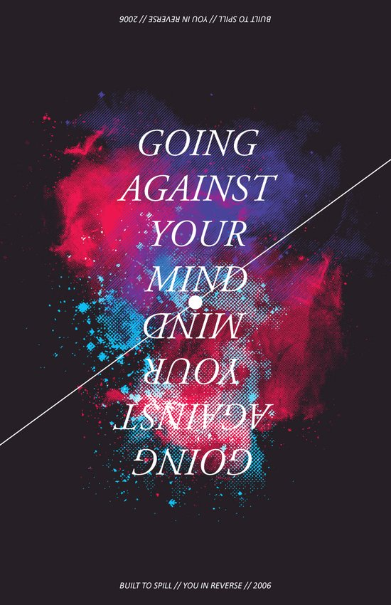 Going Against Your Mind Art Print