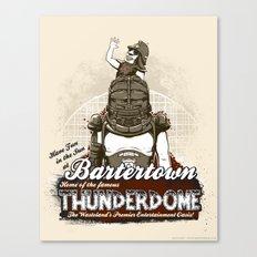Visit Bartertown! Canvas Print
