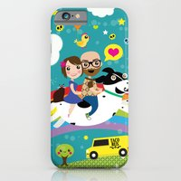 Rick and Ellen Fly to the Taco Bus iPhone 6 Slim Case