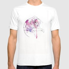 circles - brothers White SMALL Mens Fitted Tee