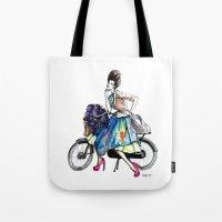 Moda Italia Tote Bag