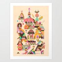 Structura 4 Art Print