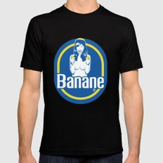 Banane SMALL Black Mens Fitted Tee