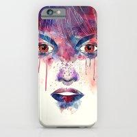 Um Rosto Aquarelável iPhone 6 Slim Case