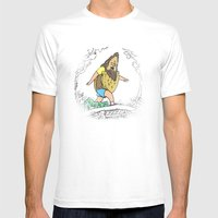 Beefsquatch Mens Fitted Tee White SMALL