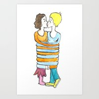 hold me tight Art Print