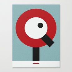 I.Q. Canvas Print
