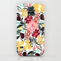 Galaxy S5 Cases featuring Wild Garden II by Bouffants and Broken Hearts