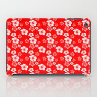 Red And White Turtles Ha… iPad Case
