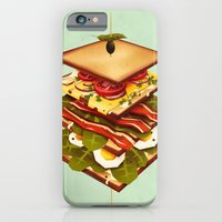 iPhone & iPod Case featuring Sandwich by Yetiland