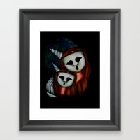 Mommy and Baby Ghostess VI. The Ghostesses Of Caprice. Framed Art Print